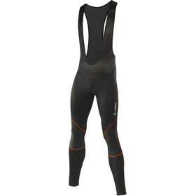 Löffler Evo WS Elastic Bike Bib Tights Men black/fiesta